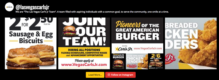 Follow Vegas Carl's Jr